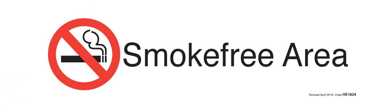 Sticker - Smokefree Area.